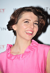 © Licensed to London News Pictures. 10/02/2012. London, England. Ophelia Lovibond attends a private dinner ahead of sundays Bafta awards hosted by William Banks-Blaney of WilliamVintage and actress Gillian Anderson at St Pancras Renaissance Hotel London  Photo credit : ALAN ROXBOROUGH/LNP