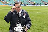 Richard Prescott, head of meia for the RFU, seen before the match between between the Barbarians and South Africa at Twickenham, London, on Saturday 4th December 2010. (Photo by Andrew Tobin/SLIK images)