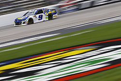 April 8, 2018 - Ft. Worth, Texas, United States of America - April 08, 2018 - Ft. Worth, Texas, USA: Chase Elliott (9) brings his race car down the front stretch during the O'Reilly Auto Parts 500 at Texas Motor Speedway in Ft. Worth, Texas. (Credit Image: © Chris Owens Asp Inc/ASP via ZUMA Wire)