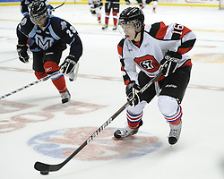 Tyler Toffoli of the Ottawa 67's in the Home Hardware CHL Top Prospects Skills Competition in Windsor, ON on Tuesday. Photo by Aaron Bell/OHL Images.