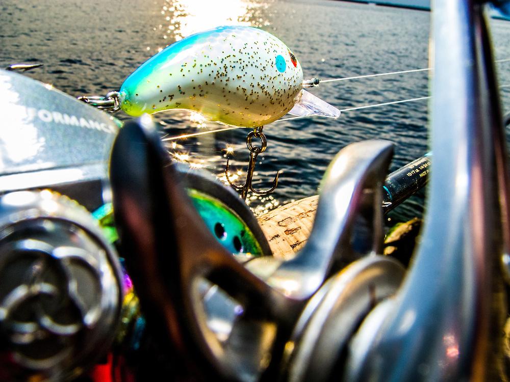 Bass Fishing Photographs