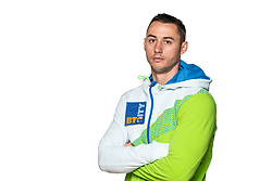 Alen Dimic at official photoshoot of Slovenian Gymnastics team prior to 2018 Koper Challenge Cup, on May 14, 2018 in Gimnasticna dvorana, Ljubljana, Slovenia. Photo by Matic Klansek Velej / Sportida