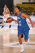 DESCRIZIONE : Bormio Torneo Internazionale Gianatti Italia Austria <br /> GIOCATORE : Luca Vitali <br /> SQUADRA : Nazionale Italiana Uomini<br /> EVENTO : Bormio Torneo Internazionale Gianatti <br /> GARA : Italia Austria <br /> DATA : 31/07/2007 <br /> CATEGORIA : Palleggio <br /> SPORT : Pallacanestro <br /> AUTORE : Agenzia Ciamillo-Castoria/S.Silvestri
