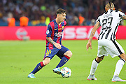 Barcelona Lionel Messi during the Champions League Final between Juventus FC and FC Barcelona at the Olympiastadion, Berlin, Germany on 6 June 2015. Photo by Phil Duncan.