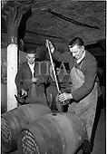 1963 - Jameson Distillery, interior views of cask storage
