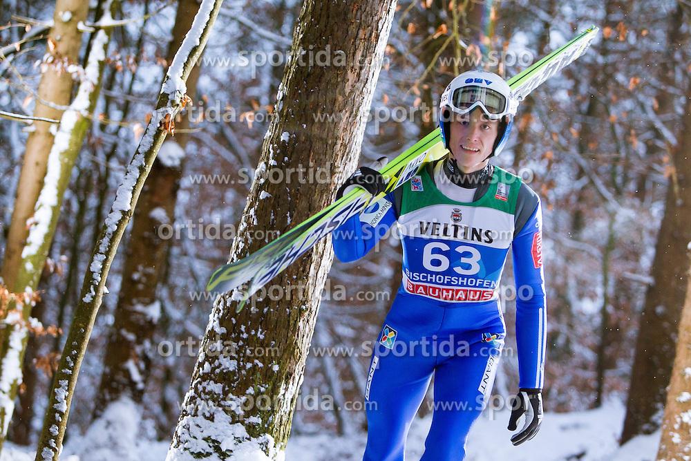 05.01.2015, Paul Ausserleitner Schanze, Bischofshofen, AUT, FIS Ski Sprung Weltcup, 63. Vierschanzentournee, Training, im Bild Rune Velta (NOR) // during Training of 63rd Four Hills <br /> Tournament of FIS Ski Jumping World Cup at the Paul Ausserleitner Schanze, Bischofshofen, Austria on 2015/01/05. EXPA Pictures &copy; 2015, PhotoCredit: EXPA/ JFK