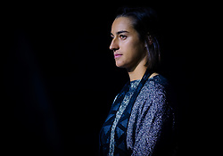 September 29, 2018 - Caroline Garcia of France during the opening ceremony of the 2018 China Open WTA Premier Mandatory tennis tournament (Credit Image: © AFP7 via ZUMA Wire)