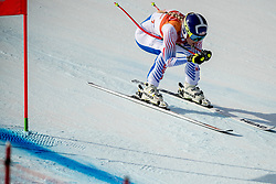 21-02-2018 KOR: Olympic Games day 12, PyeongChang<br /> Ladies Downhill at Jeongseon Alpine Centre / Bronze medal for Lindsey Vonn, of the United States, in action