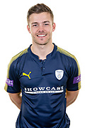 Lewis McManus of Hampshire during the Hampshire CCC photo call 2017 at  at the Ageas Bowl, Southampton, United Kingdom on 12 April 2017. Photo by David Vokes.