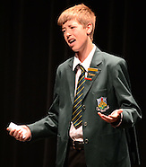 Dunedin-Speech, Dunedin Yr  9&10 competition.