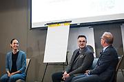 Silicon Valley Business Journal's Deisgn Thinking Lab at the Four Seasons Hotel in East Palo Alto, California, on November 15, 2018. (Stan Olszewski for Silicon Valley Business Journal)