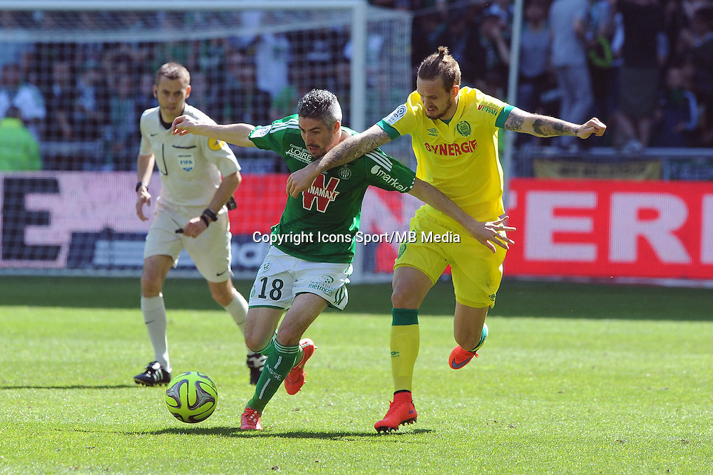 Fabien LEMOINE  - 12.04.2015 - Saint Etienne / Nantes - 32eme journee de Ligue 1 <br />
