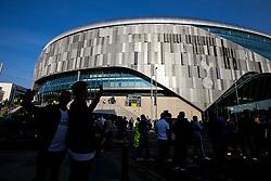 A general view of The Tottenham Hotspur Stadium - Mandatory by-line: Robbie Stephenson/JMP - 30/04/2019 - FOOTBALL - Tottenham Hotspur Stadium - London, England - Tottenham Hotspur v Ajax - UEFA Champions League Semi-Final 1st Leg