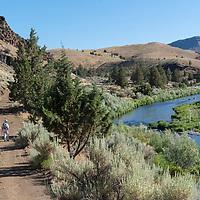 John Day River near the Palentology Center in Kimberly, Oregon