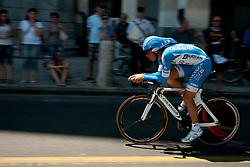 Cyclist of Colnago during chronometer (17,8km) of Tour de Slovenie 2012, on June 17 2012, in Ljubljana, Slovenia. (Photo by Urban Urbanc / Sportida.com)