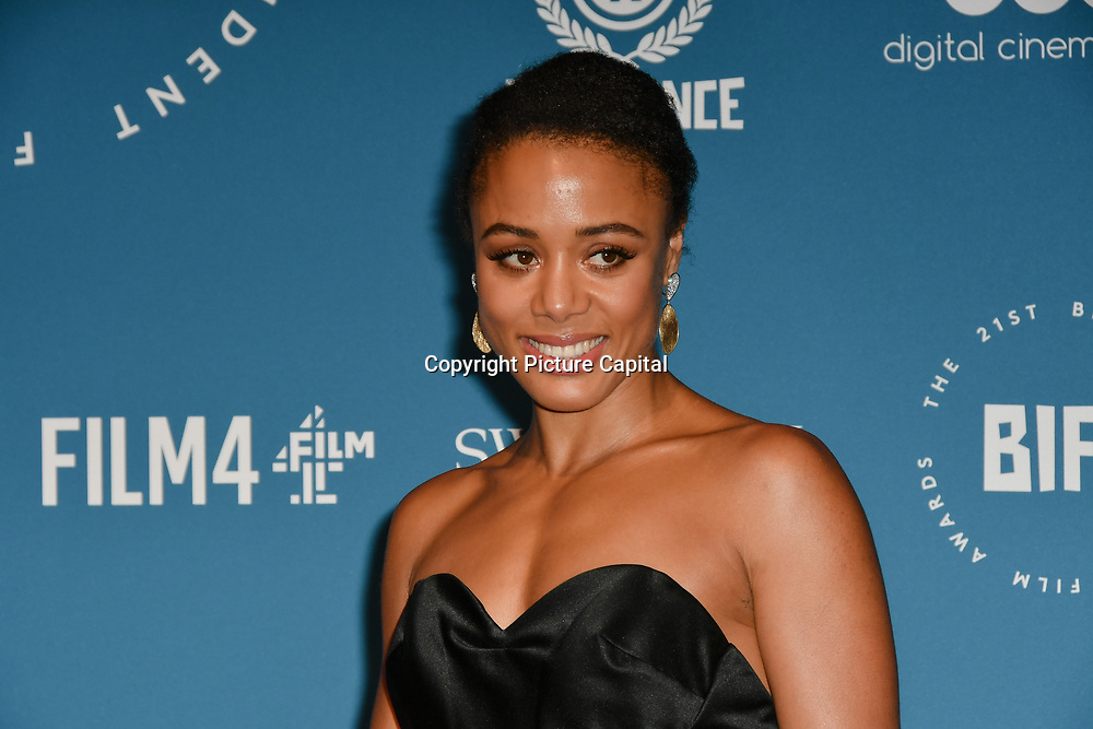 Nina Toussaint White Arrivers at The 21sh British Independent Film Awards at 1 Old Billingsgate Walk on 21 December 2018, London, UK.