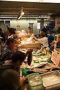 Chinatown, Honolulu, Oahu, Hawaii, fish, market, food