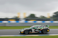 Jake Giddings (GBR) / Kieran Griffin (GBR)  #47 JW Bird Motorsport  Aston Martin V8 Vantage GT4  Aston Martin 4.7L V8. British GT Championship at Donington Park, Melbourne, Leicestershire, United Kingdom. September 10 2016. World Copyright Peter Taylor/PSP.