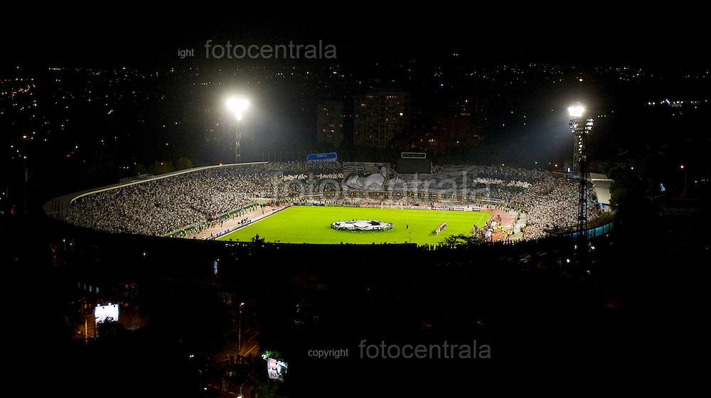 FUDBAL, BEOGRAD, 28. Sept. 2010. - Stadion Partizana. Utakmica  2. kola Lige sampiona izmedju Partizana i ekipe Arsenala. Foto: Nenad Negovanovic