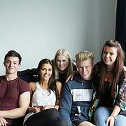 Liberty Living Student Accommodation , lifestyle model shoot students working , student digs , students on laptops