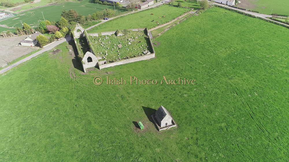 Louth Village Saint Mcochtas church, abbey, credit, union, school, shops, pub, Saint, Machtas, Louth, Village, Church, Abbey, Aerial Images photo aerial photos