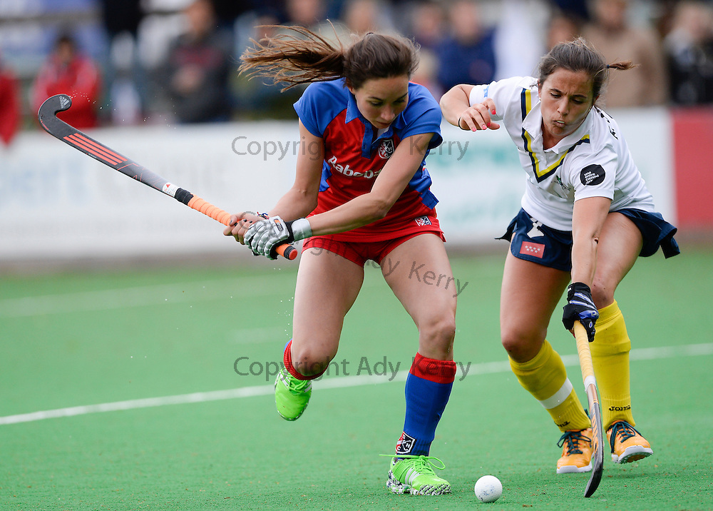 SCHC vs Campo de Madrid at SCHC, Bilthoven, Utrecht, Netherlands,14th May 2016.<br />
