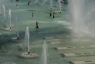 France. paris. 16th district. Trocadero garden./ Jardin du Trocadero
