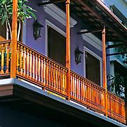 Balconies,.San Juan, Puerto Rico