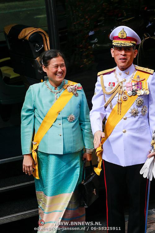 NLD/Amsterdam/20130430 - Inhuldiging Koning Willem - Alexander,prince Maha Vajiralongkorn and princess Maha Chakri Sirindhorn