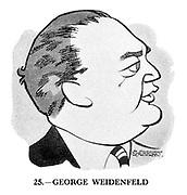 These Looks Speak Volumes 25. George Weidenfeld