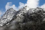 Bec des Rosses, above Cabane du Mont Fort, Switzerland.