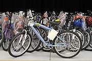 More than 90 bicycles were given away to deserving students at Coop Elementary.