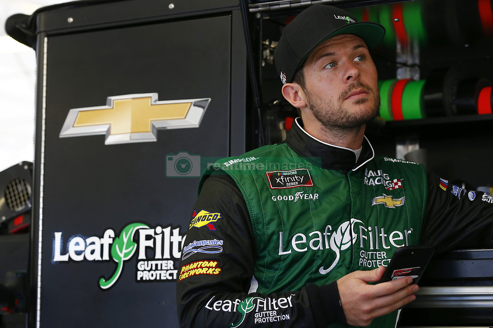 September 14, 2018 - Las Vegas, Nevada, United States of America - Ryan Truex (11) hangs out in the garage during practice for the DC Solar 300 at Las Vegas Motor Speedway in Las Vegas, Nevada. (Credit Image: © Chris Owens Asp Inc/ASP via ZUMA Wire)