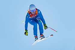 17.02.2018, Jeongseon Alpine Centre, Jeongseon, KOR, PyeongChang 2018, Ski Alpin, Damen, Super G, im Bild Nadia Fanchini (ITA) // Nadia Fanchini of Italy in action during ladie's SuperG of the Pyeongchang 2018 Winter Olympic Games at the Jeongseon Alpine Centre in Jeongseon, South Korea on 2018/02/17. EXPA Pictures © 2018, PhotoCredit: EXPA/ Johann Groder