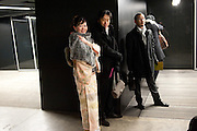 YUKARI UEDA; YASHIRO UEDA, Yayoi Kusama opening. Tate Modern. London. 7 February 2012
