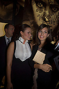 CAMILLA AL FAYAD AND DASHA ZHUKOVA, Vanity Fair Portraits: Photographs 1913-2008. Hosted by Burberry and Vanity Fair. National Portrait Gallery. London. 9 February 2008.  *** Local Caption *** -DO NOT ARCHIVE-© Copyright Photograph by Dafydd Jones. 248 Clapham Rd. London SW9 0PZ. Tel 0207 820 0771. www.dafjones.com.