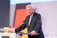 22 NOV 2019, LEIPZIG/GERMANY:<br /> Volker Bouvier, CDU, Ministerpraesident Hessen, haelt eine Rede, CDU Bundesparteitag, CCL Leipzig<br /> IMAGE: 20191122-01-174<br /> KEYWORDS: Parteitag, party congress