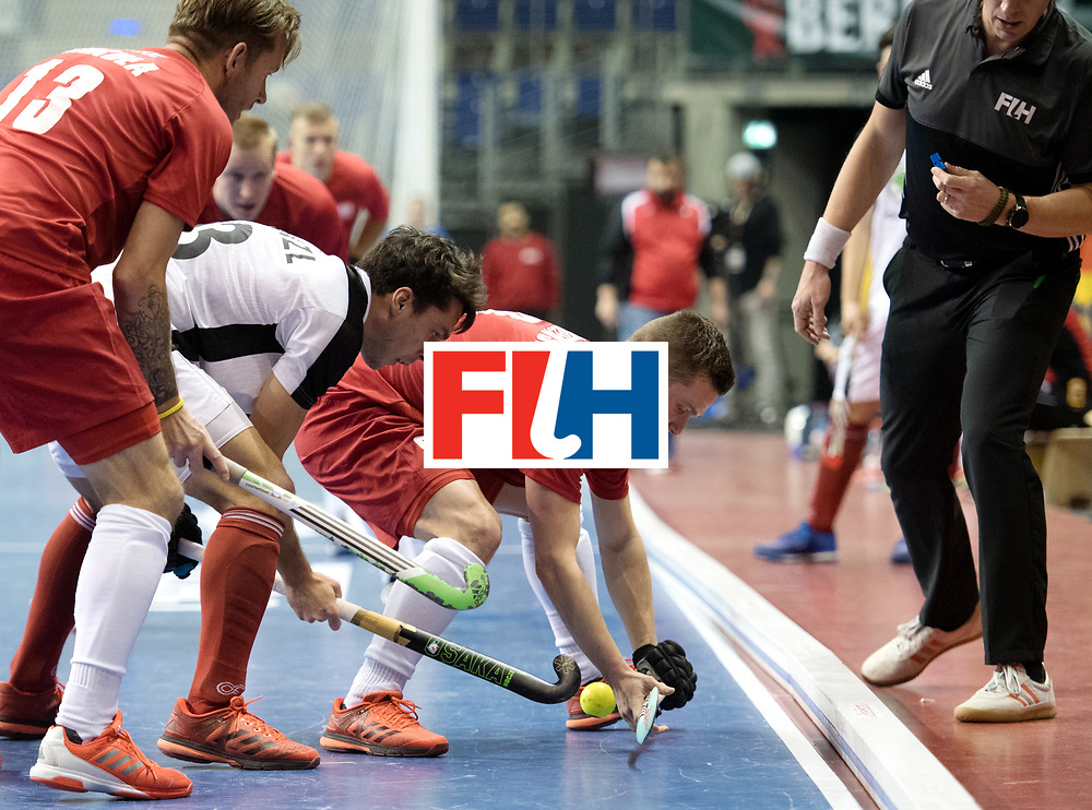 BERLIN - Indoor Hockey World Cup<br /> Quarterfinal 2: Austria - Poland<br /> foto: <br /> WORLDSPORTPICS COPYRIGHT FRANK UIJLENBROEK