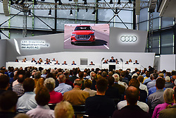Germany, Neckarsulm - May 23, 2019.Annuan general meeting of Audi AG. (Credit Image: © Sepp Spiegel/Ropi via ZUMA Press)