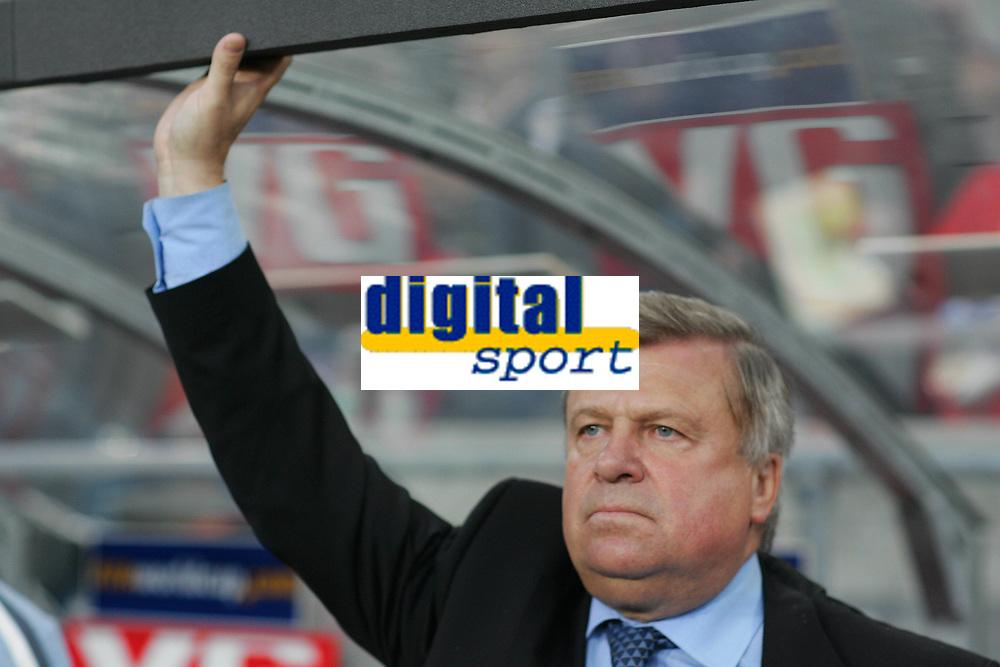 Fotball, 8. september 2004 EM kvalifisering,  Norge- Hviterussland 1-1, Anatoly Bidachny, trener Hviterussland