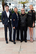 NICHOLAS HOULT, TOM HARDY, GEORGE MILLER, CHARLIZE THERON   - PHOTOCALL FILM 'MAD MAX' - 68TH CANNES FILM FESTIVAL <br /> ©Exclusivepix Media