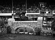 "07/08/1980<br /> 08/07/1980<br /> 07 August 1980<br /> R.D.S. Horse Show: John Player International, Ballsbridge, Dublin.  Brian Henry (Ireland) on ""Knockaney""."