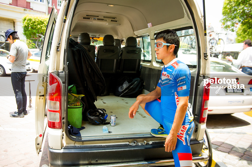 Le Tour de Langkawi 2015/ Stage8/ Kuala Kubu Bharu -Kuala Lumpur/ Aisan Racing/ Nakajima Yasuharu