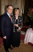 James Fox, Annabel, An Unconventional Life. Memoirs of Lady Annable goildsmith. The Ritz. 10 March 2004. ONE TIME USE ONLY - DO NOT ARCHIVE  © Copyright Photograph by Dafydd Jones 66 Stockwell Park Rd. London SW9 0DA Tel 020 7733 0108 www.dafjones.com