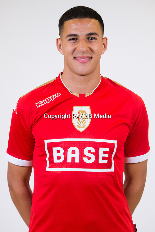 Standard's Ahmed El Messaoudi pictured during the 2015-2016 season photo shoot of Belgian first league soccer team Standard de Liege, Monday 13 July 2015 in Liege.