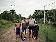 A family portrait - Uruguayan countryside - Tacuarembo. <br />