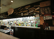 The bar at Billy Goats tavern