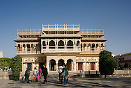 The guest pavillion at The City Palace, Jaipur, Rajasthan, India