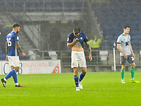 Football - 2019 / 2020 Championship - Cardiff City vs Blackburn Rovers<br /> <br /> Cardiff, Joe Ralls of Cardiff City look down after losing the match <br /> in a match played with no crowd due to Covid 19 coronavirus emergency regulations, at the almost empty Liberty Stadium.<br /> <br /> COLORSPORT/WINSTON BYNORTH