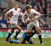 Twickenham, GREAT BRITAIN, Toby FLOOD, during the  England vs Italy, Six Nations Rugby match,  played at the  RFU Twickenham Stadium on Sat 10.02.2007  [Photo, Peter Spurrier/Intersport-images].....